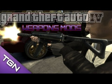 How To Install GTA IV PC Mods (Player & Weapons Mods)