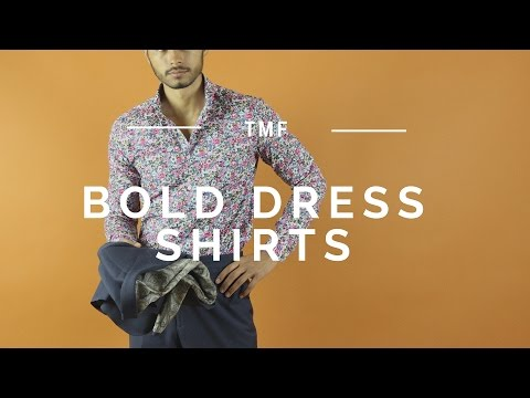 How To Wear Bold Patterned Shirts