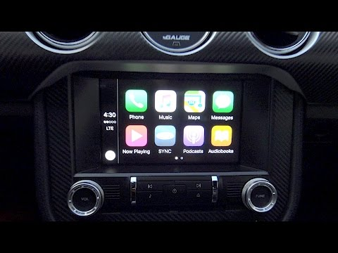 SYNC 3 Apple CarPlay:  Required USB Hub Upgrade for 2016 Mustang