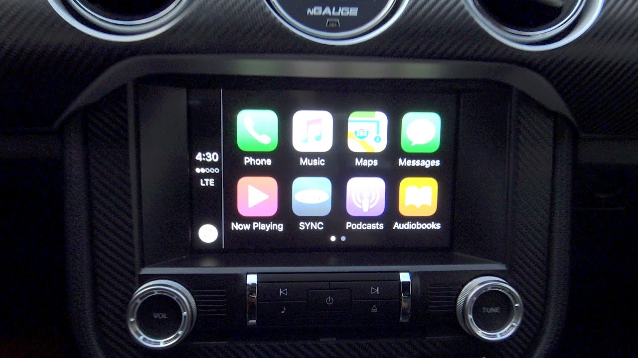 sync 3 apple carplay required usb hub upgrade for 2016 mustang youtube. Black Bedroom Furniture Sets. Home Design Ideas