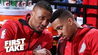 Download Steph and Klay are a nightmare for Dame and CJ – Stephen A. | First Take Mp3 and Videos
