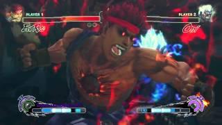 超級快打旋風 4 ae 版 殺意隆 vs 狂鬼對戰影片 ps3 xbox360 pc 巴哈姆特gnn