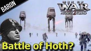 Men of War Assault Squad 2:  Italian Armies Invade Hoth (Battle of Hoth?)