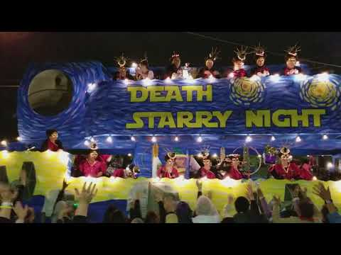 A Death Starry Night - From the 2018 Muses parade