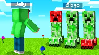 Only ONE CREEPER Is The REAL SLOGOMAN! (Minecraft Guess Who)