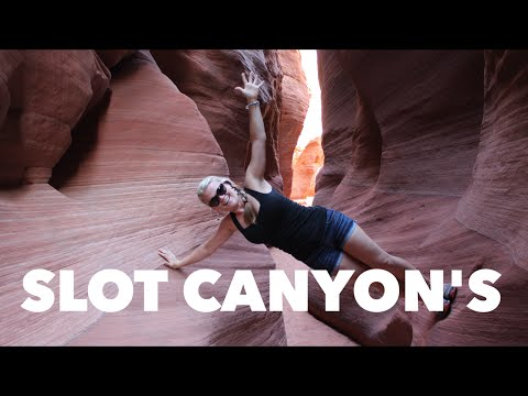 Slot Canyons in Utah (Full Time RV Living) Ep. 2