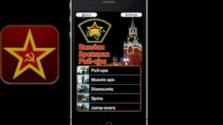 Russian Spetsnaz Pull-up Training System App for iPhone, iPod Touch and iPad HD - Lev Kalashnikov