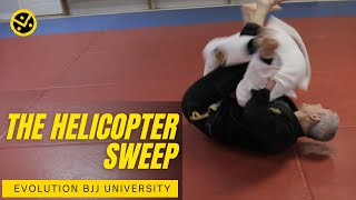 Evolution BJJ University - Helicopter sweep