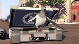 """A. E. Ruth - Animation Re-Score """"Pigeon: Impossible"""""""