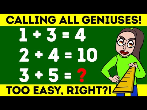 🔉Puzzles That Are Easy But Adults Fail To Solve