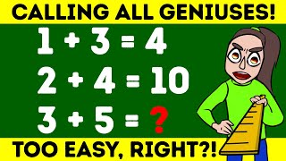 Puzzles That Are Easy But Adults Fail To Solve