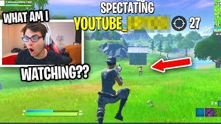 I spectated RANDOM SQUADS with YouTube in their name and was SHOCKED... (Fortnite)