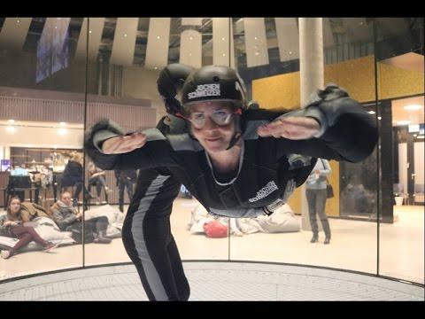 NEW! Body Flying in der Jochen Schweizer Arena München - Neueröffnung! - GoPro FullHD