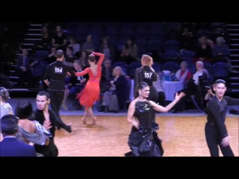 1st Round Adult Open Latin SAMBA  2016 D.A.N.C.E