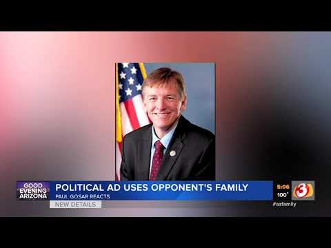 VIDEO: Paul Gosar response to siblings who endorsed other candidate