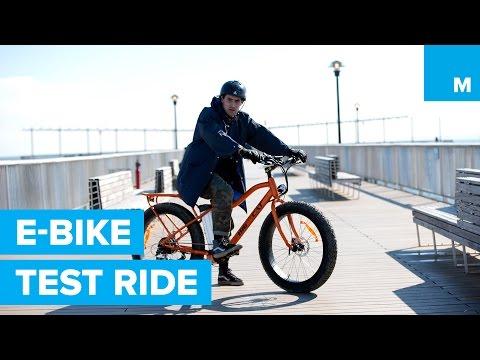 Test-Riding Big Cat Electric Bikes on the Beach & Boardwalk | Mashable