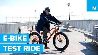 Test-Riding Big Cat Electric Bikes on the Beach & Boardwalk | Mashable