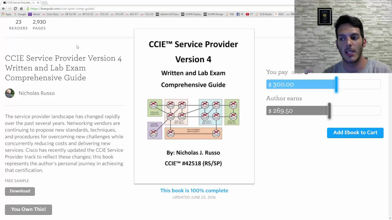 CCIE Service Provider v4 Comprehensive Guide now out!!!