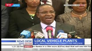 National implementation committee presser on Local Vehicle Plants