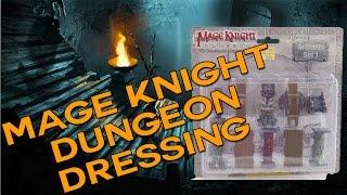 Mage Knight Artifact Set 1 Review - BEAUTIFUL Dungeon Dressing Miniatures