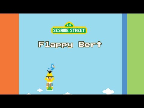 Let's Play Flappy Bert - The Sesame Street Flappy Bird
