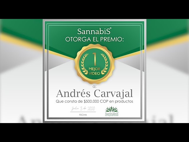 Testimonio Sannabis Andrés Carvajal