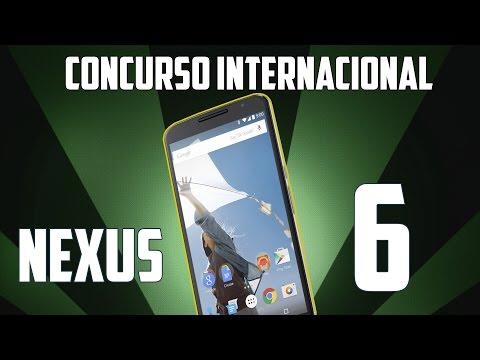Concurso Internacional Google Nexus 6