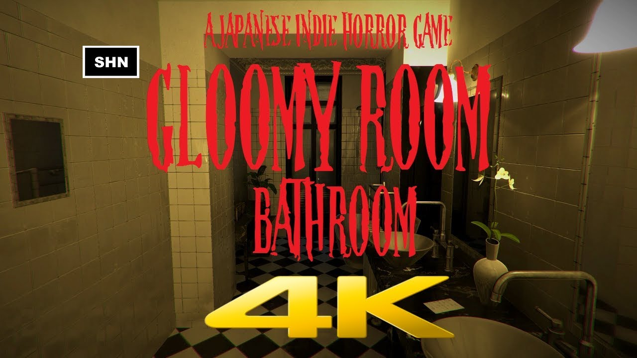 bathroom horror game gloomy room bathroom 4k 60fps a japanese horror 10085