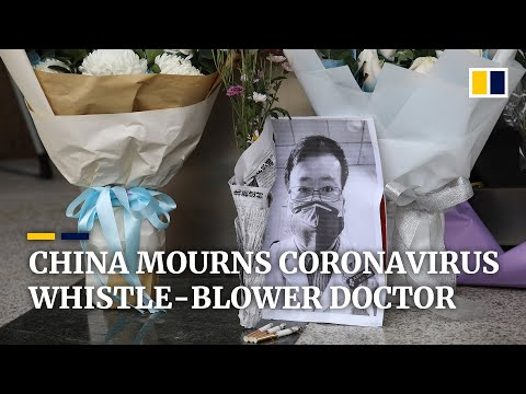 Public mourning in China after death of coronavirus whistle-blower doctor Li Wenliang