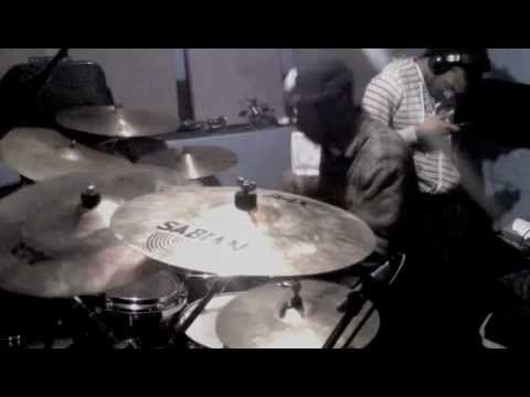 Trey Songz - Bottoms Up LIVE ARRANGEMENT/Amazing Drum solo