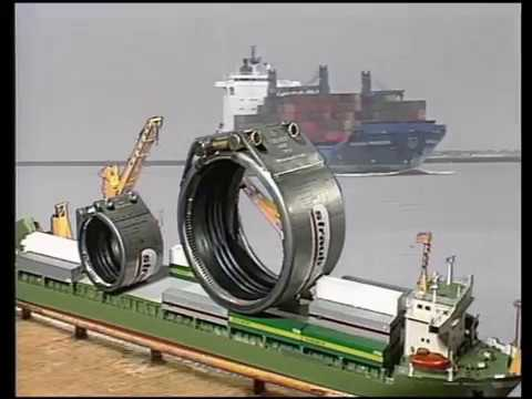 Straub Steel Pipe Couplings - Ship building & Offshore applications