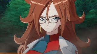 DRAGON BALL FIGHTERZ Android 21 Tricks Goku & Krillin in Fighting Frieza & Perfect Cell