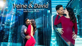 Yeine & David BTS Engagement