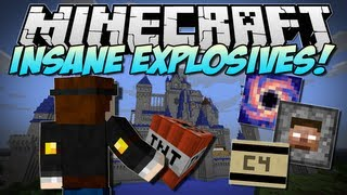 Minecraft | INSANE EXPLOSIVES! (Let