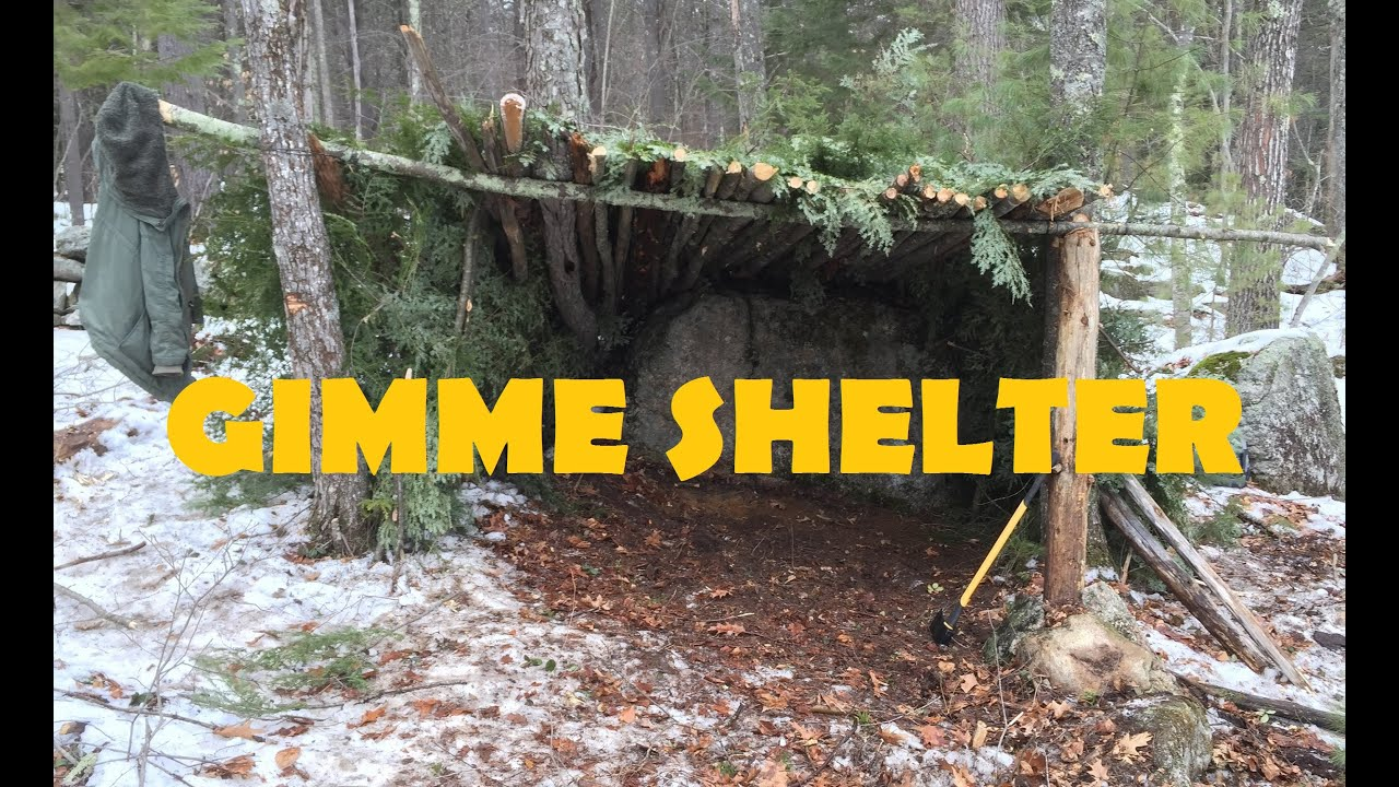 Long Term Survival Shelter : Building a long term survival shelter using your natural