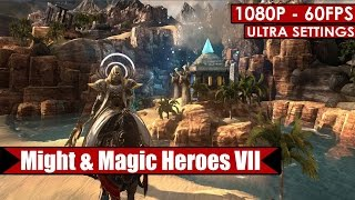 Might and Magic Heroes VII gameplay PC HD [1080p/60fps]
