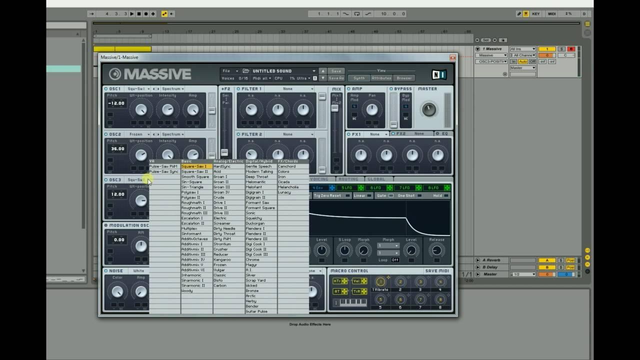 massive plugin free download fl studio 12