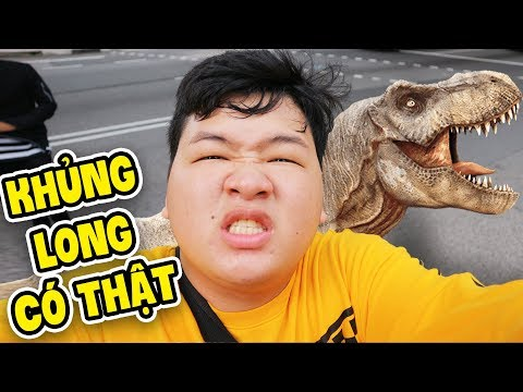 MÌNH GẶP KHỦNG LONG THẬT !!!!!  MAZK IN SINGAPORE EP 2