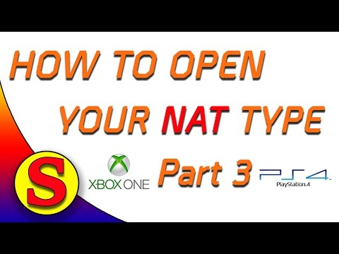 how to turn nat type to open