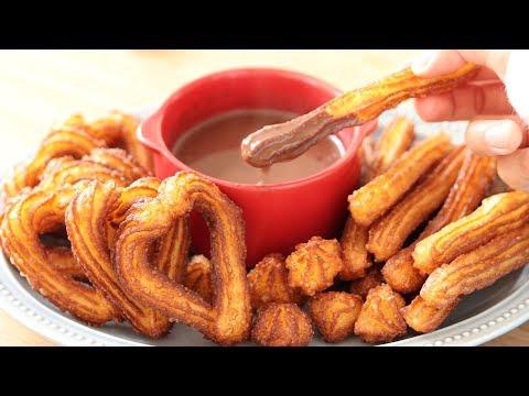 Churros & Hot Chocolate|HidaMari Cooking