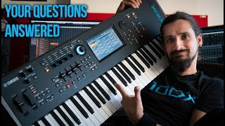 YAMAHA MODX- YOUR Questions Answered