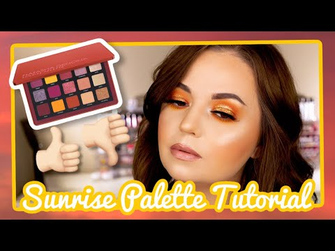NATASHA DENONA SUNRISE PALETTE / Review and Tutorial thumbnail