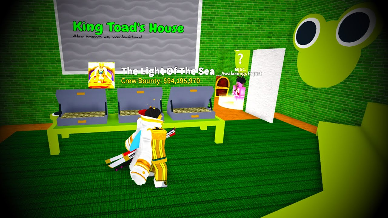 ( CODE ) NEW SECRET ROOM TO TOGGLE AWAKENINGS IN BLOX FRUITS UPDATE 11 !