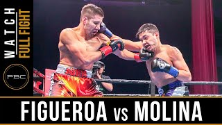 Figueroa vs Molina FULL FIGHT: February 16, 2019 - PBC on FOX