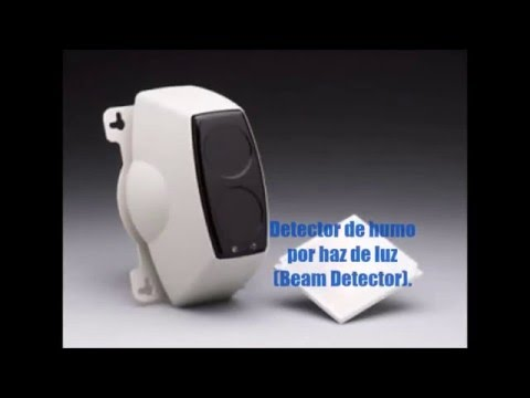 detector de humo por haz de luz beam detector youtube