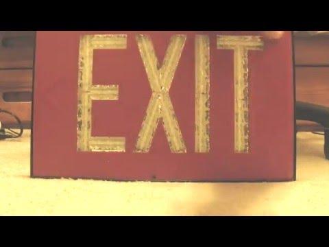 Tritium Exit Sign (part 1)