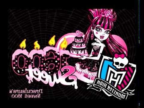 Draculaura Monster High (Видео из картинок)