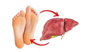 10 Dinge, die deine Füße über deine Leber aussagen!