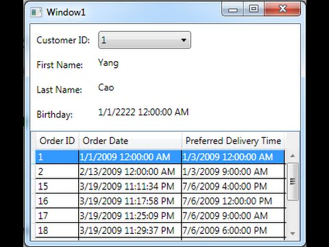 Insert Update Delete Using DataGridView and Binding Navigator