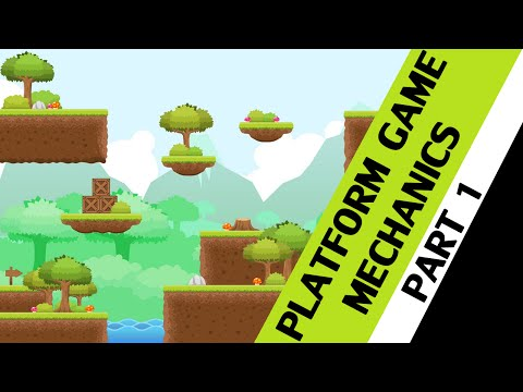 GameMaker Platform Tutorial - Platform Game Mechanics